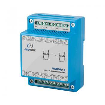 Модуль защиты сигнальных линий измерительных датчиков Невод+З